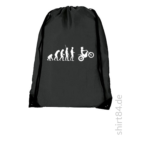 Evolution Moto Trial schwarzes T-Shirt