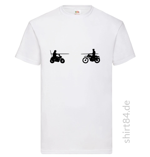 Spencer vs. Hill on Bike weißes T-Shirt Männer