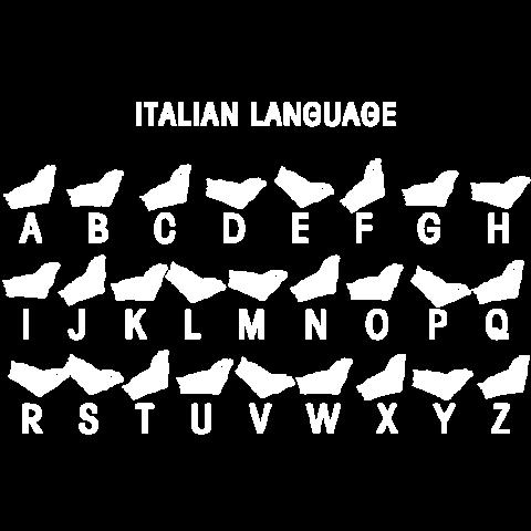 Italienische sprache t shirt dunkelgrau meliert t shirt - Wandtattoo italienische spruche ...