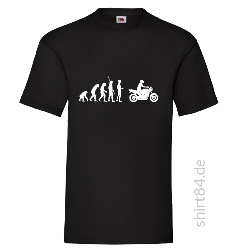 Evolution Motorrad Naked Bike T-Shirt